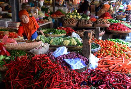 harga kebutuhan pokok melonjak cukup signifikan - www.beritaenam.com