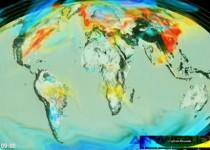 NASA Tampilkan Karbondioksida di Atmosfer via Visualisasi 3D