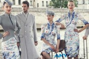 Stylish, Penampakan Seragam Baru Awak Kabin Hainan Airlines