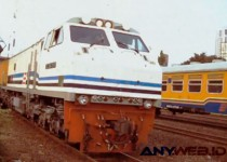 Mesin Kereta Api di Indonesia