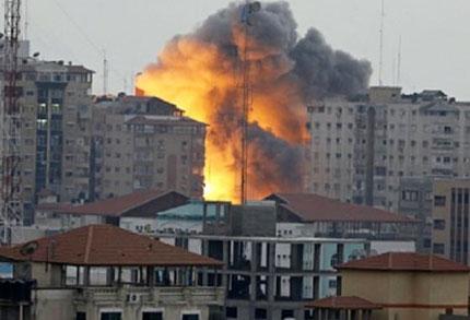 Serangan Tentara Israel di Gaza - internasional.kompas.com